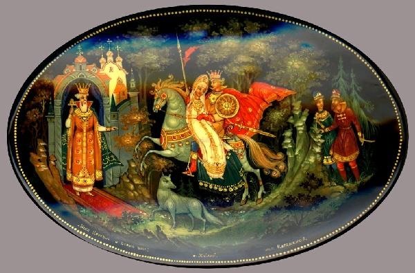 Братья задумали убить Ивана-царевича