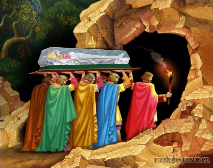 гроб-хрустальный-мёртвая-царевна-русская-сказка