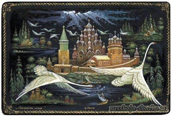 Гуси_лебеди