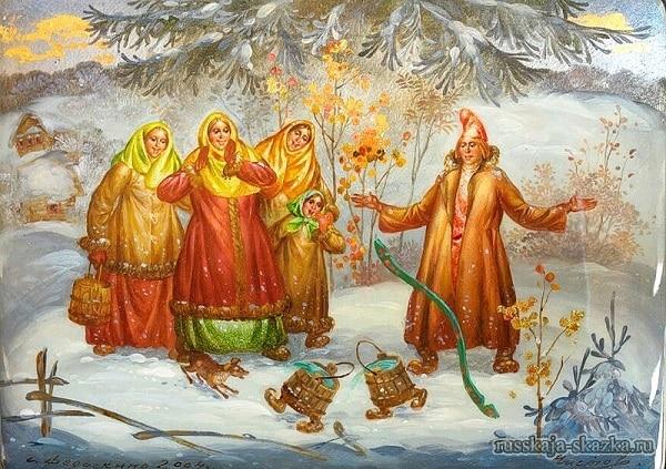 idut-vyodra-po-derevne-po-shhuchemu-velenyu-russkaja-skazka