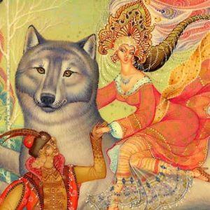 Иван-царевич и серый волк, русская сказка для детей