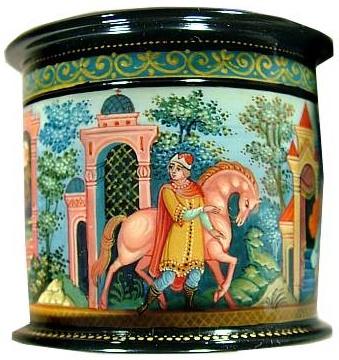 Иван-царевич повёл коня к царю