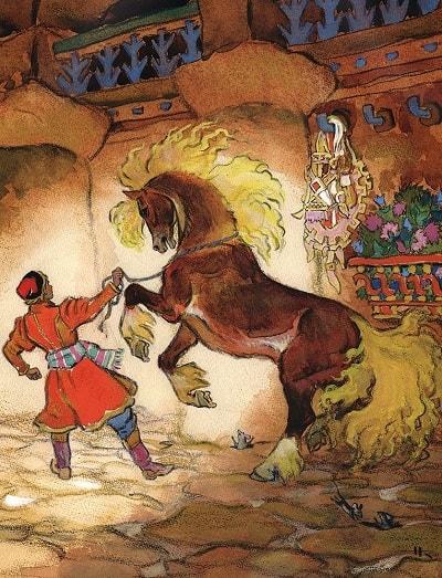 Иван-царевич и серый волк русская сказка
