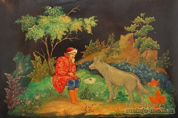 Серый волк спросил Ивана-царевича
