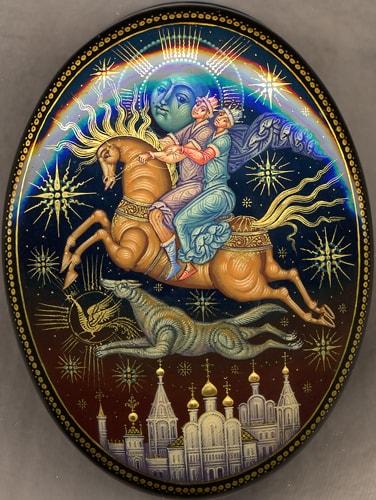 Читать сказку Иван-царевич и серый волк