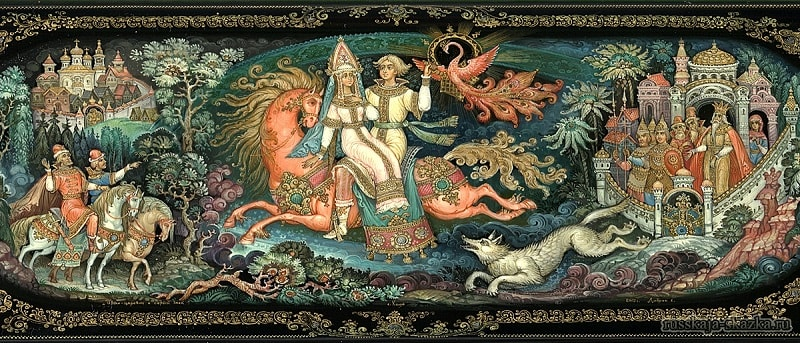 Сказки читать Иван-царевич и серый волк