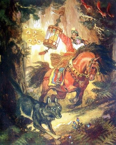 Иван-царевич и серый волк Кочергин