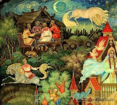 Пришло время старику умирать, русская народная старая сказка Сивка-бурка вещая каурка про Ивана-дурака и его братьев, царя принцессу и волшебного коня кольцо поцелуй печать