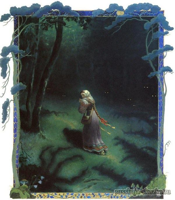 пошла-василиса-в-дремучий-лес-русская-сказка-василиса-прекрасная