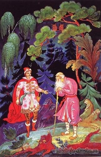 povstrechalsya-ivanu-carevichu-starik-russkaya-skazka-carevna-lyagushka