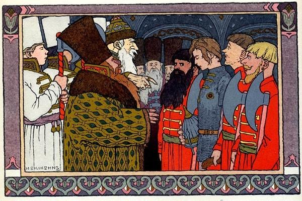 Поймала стража Ивана-царевича