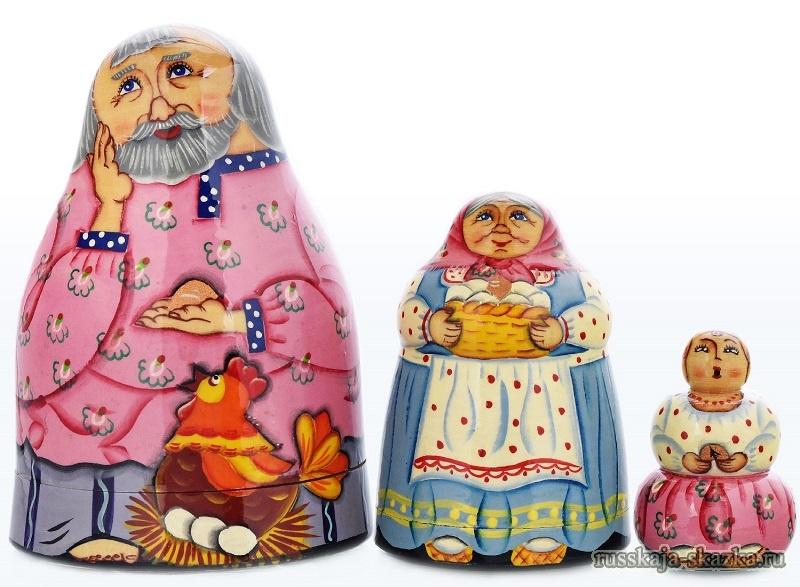russkaja-skazka-kurochka-ryaba-ded-plachet-baba-plachet