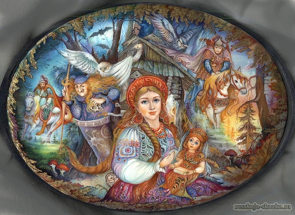 russkaja-skazka-vasilisa-prishla-v-les-k-babe-yage