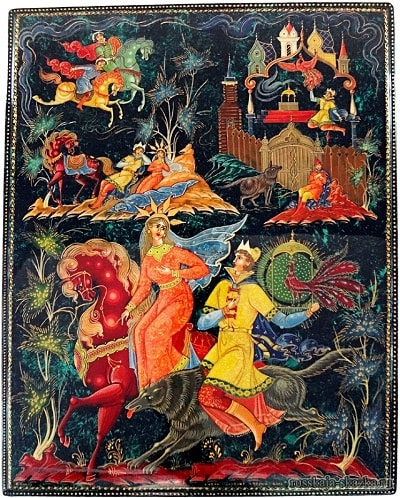 Картинки к сказке Иван-царевич и серый волк