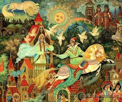 вещая каурка, русская народная старая сказка Сивка-бурка вещая каурка про Ивана-дурака и его братьев, царя принцессу и волшебного коня кольцо поцелуй печать