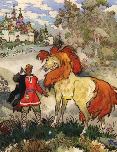 Откуда ни возьмись конь бежит, книги про Сивку-бурку все герои сказки на ночь детская литература книжка для маленьких краткое содержание