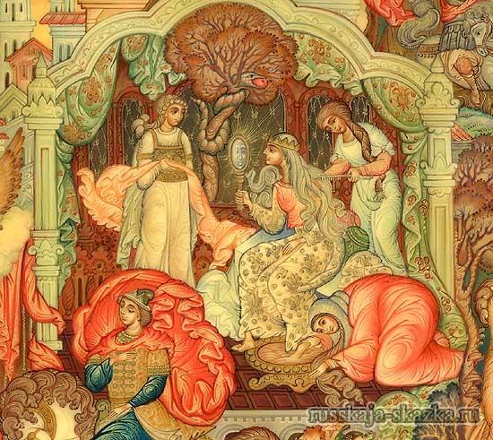спящая-красавица-русская-сказка-зеркальце-царица