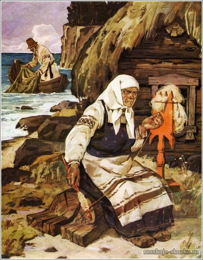старуха-пряла-свою-пряжу-русская-сказка-о-рыбаке-и-рыбке