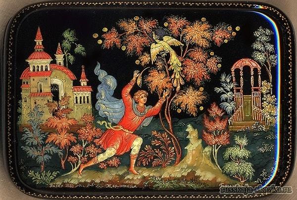 Иван-царевич увидел жар-птицу