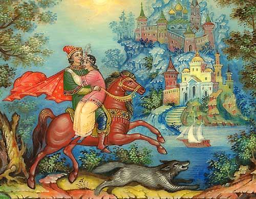Вернулся Иван-царевич домой