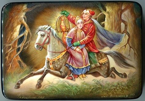 Иван-царевич возвращается домой