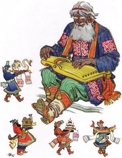 Разговоры тут были коротки, сказка сивка-бурка читать текст с картинками все страницы крупный шрифт много иллюстраций рисунков для детей лаковая миниатюра Палех Федоскино Холуй