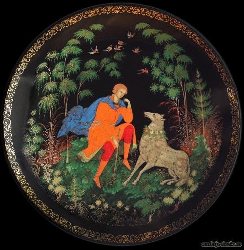 Иван-царевич и серый волк сказка