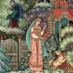 Сказка о мертвой царевне и о семи богатырях, Пушкин, картинки