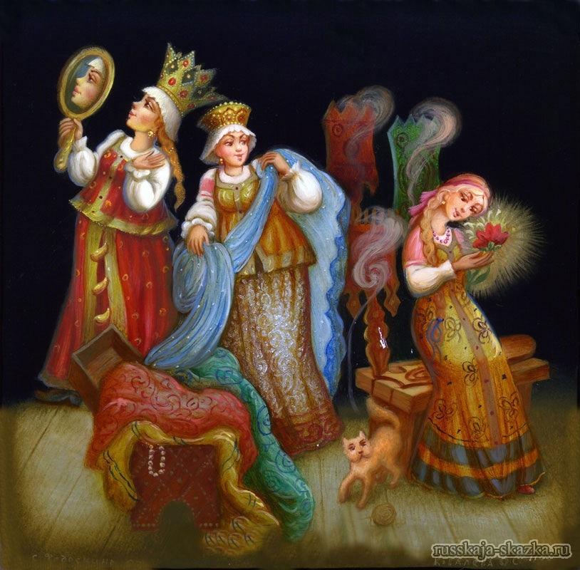alenkiy-cvetochek-chitat-russkaja-skazka-sestryi-podarki