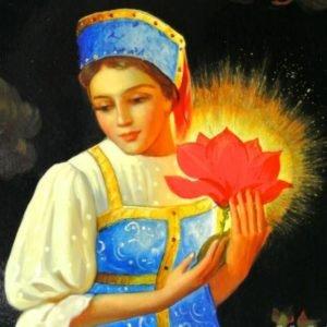 Аленький цветочек, сказка, Аксаков С.Т.