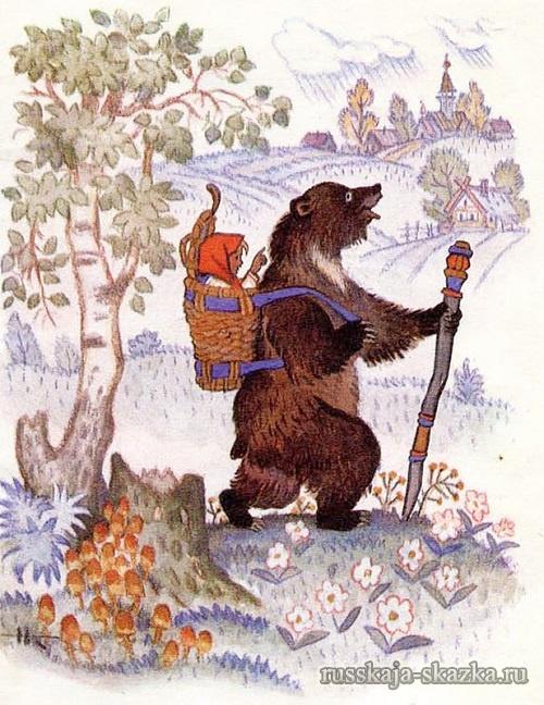 poshyol-medved-v-derevnyu-skazka-masha-i-medved