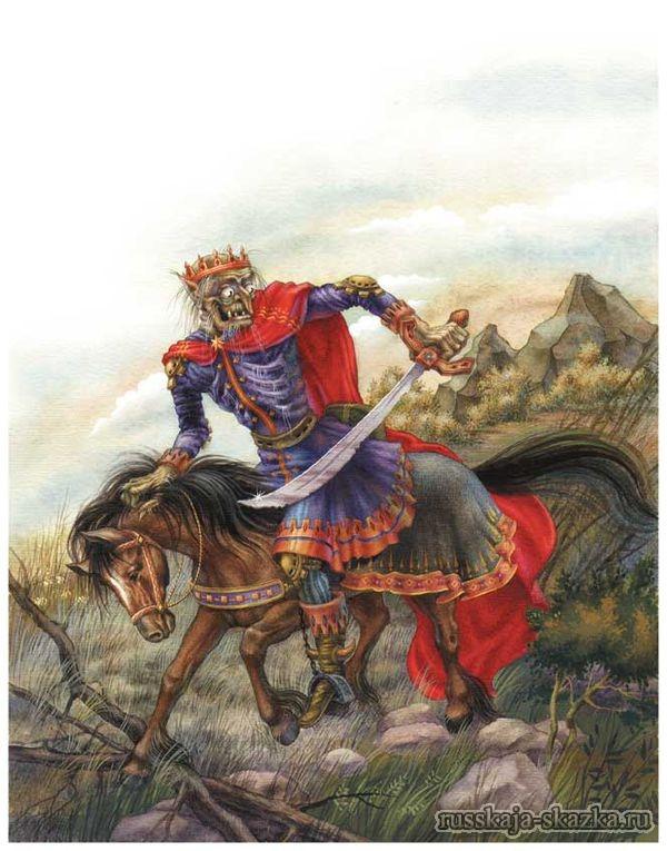 marya-morevna-koshhey-poskakal-dognal-ivana-carevicha-chitat-skazku