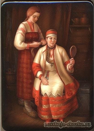 Падчерица и дочка