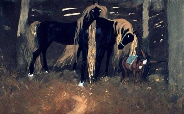 Двух коней золотогривых
