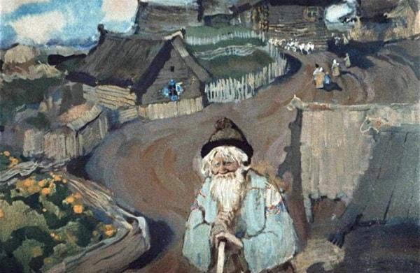 Жил старик в одном селе