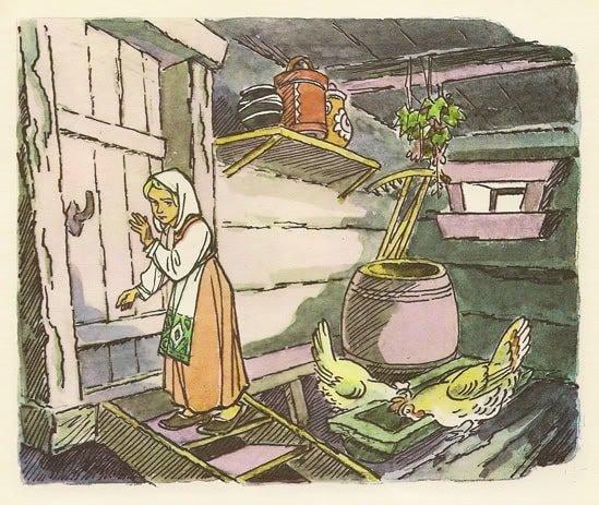 Хаврошечка про это спознала читать популярную русскую сказку Хаврошечка онлайн бесплатно и смотреть мультфильм диафильм фильм сказку, слушать аудиосказку аудиокнигу mp3