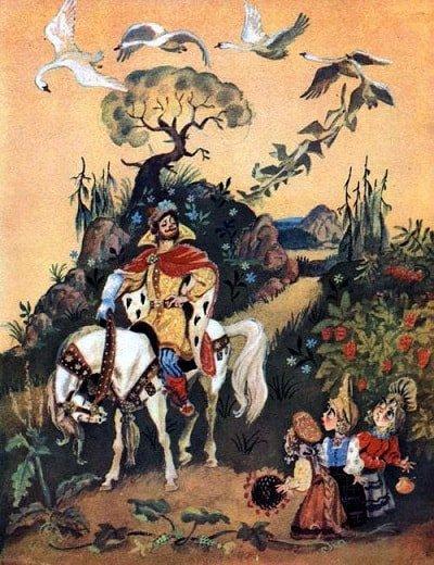 ехал мимо сильный человек краткое содержание сказки Хаврошечка с картинками много красочных ярких картинок и рисунков для ребят маленьких и больших