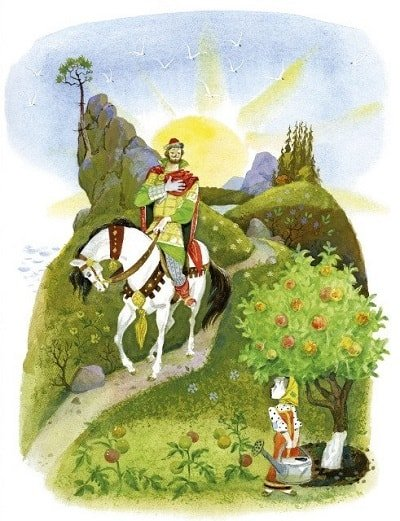 Хаврошечка каждый день в саду поливала книжка детская литература с картинками Крошечка Хаврошечка Бурёнушка корова крупный шрифт весь текст сказки все страницы