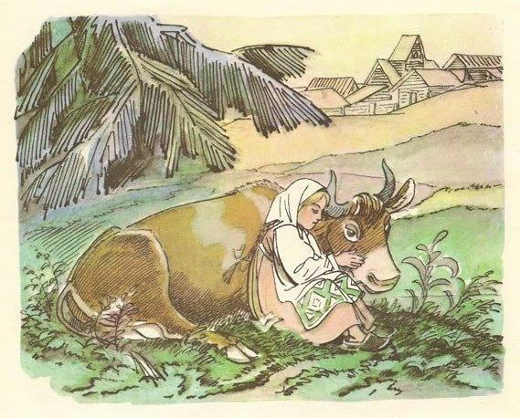 Выйдет Крошечка-Хаврошечка в поле краткое содержание сказки Хаврошечка с картинками много красочных ярких картинок и рисунков для ребят маленьких и больших