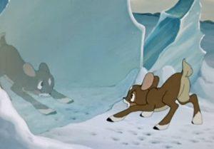 Храбрый оленёнок, мультфильм 1957 год, смотреть детские мультфильмы, мультики для ребят онлайн бесплатно советские ссср в хорошем качестве лучшие, много мультфильмов для детей и родителей, малышей и взрослых, анимация мультипликация детство ребёнок сейчас, красивые картинки кадры, рисованные и кукольные отечественного русского российского производства