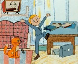 В стране невыученных уроков, мультфильм 1969 год, смотреть детские мультфильмы, мультики для ребят онлайн бесплатно советские ссср в хорошем качестве лучшие, много мультфильмов для детей и родителей, малышей и взрослых, анимация мультипликация детство ребёнок сейчас, красивые картинки кадры, рисованные и кукольные отечественного русского российского производства