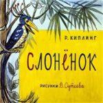 Слонёнок, Р.Киплинг, диафильм (1965)