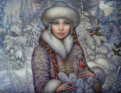 Снегурочка сказочная