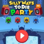 Silly Ways To Die: Party, флеш игра