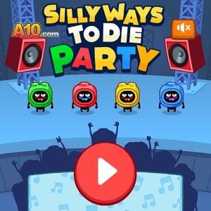 Silly Ways To Die Party, флеш игра играть онлайн бесплатно