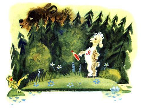 Бебека, стих сказка Чуковский К.И. читать онлайн для детей бесплатно