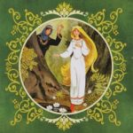 Белая уточка, русская народная сказка читать детям картинка онлайн крупный шрифт детская литература