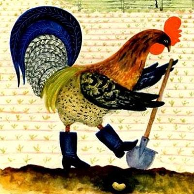 Бобовое зернышко, русская народная сказка читать онлайн для детей крупный шрифт картинка детская литература книга бесплатно