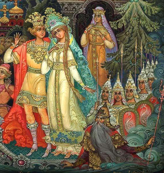 Бог вас, дети, наградит, приучение детей к чтению русских сказок, крупный шрифт, много иллюстраций русских художников