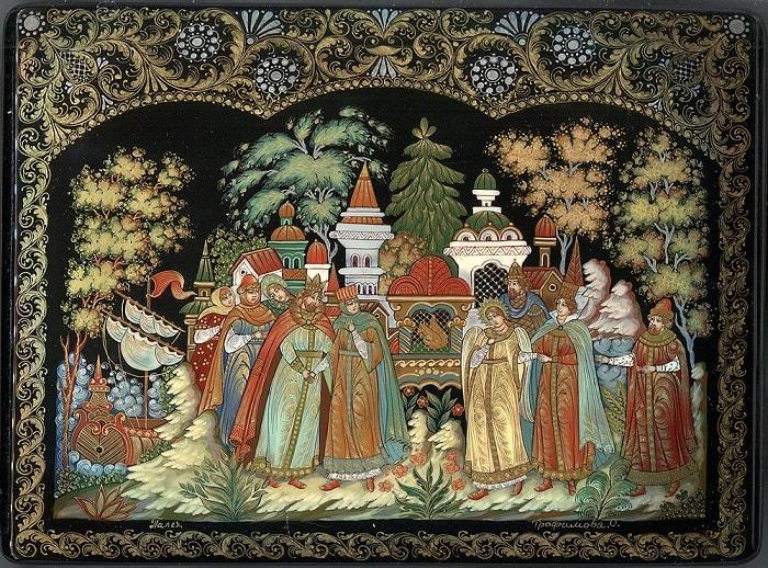 Царь слезами залился, на сайте russkaja-skazka.ru много разных сказок , диафильмов, мультфильмов, фильмов и аудиосказок